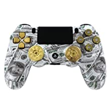 """Money talks Loaded"" PS4 Custom Modded Controller - COD Ready Zombie Auto Aim..."