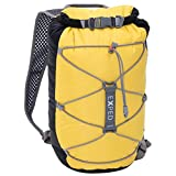 Exped Cloudburst Ultralight Waterproof Daypack with Roll Top Closure, 25L, Black / Yellow Review