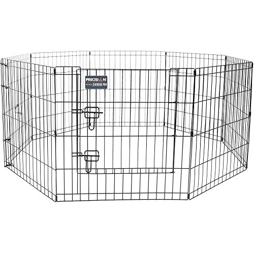 Precision Pet 7012324 Universal Exercise Pen W/Door, 24""