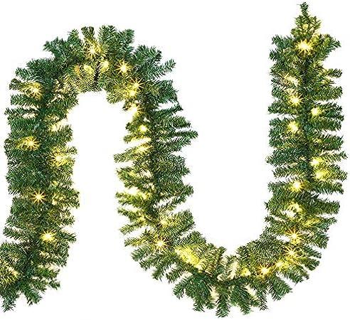 Guirlande Pour Sapin De Noel Casaria Guirlande Lumineuse Sapin Noel Intérieur Extérieur 5m 100