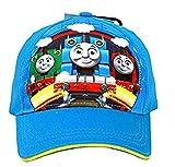 THOMAS & FRIENDS THOMAS THE TANK ENGINE STREAM TEAM GO HAT BASEBALL CAP KID SIZE-NEW!
