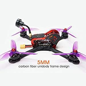 """ARRIS X210S 210MM 5"""" RC Quadcopter FPV Racing Drone RTF W/Jumper T8SG V2 PLUS Transmitter + Flycolor 4-in-1 Tower + Foxeer Arrow Mini Pro Camera + VT5804 V2 VTX by Hobby-wing"""