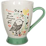 Bloom Pavilion Gift Company 74035 Nana Ceramic Mug, 16-Ounce 5-Inch, Multicolored