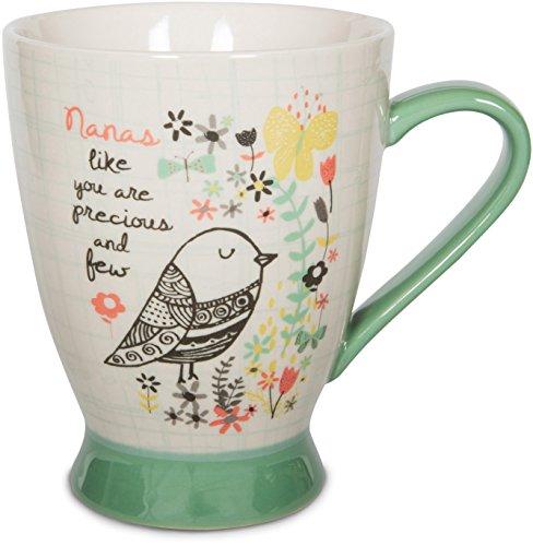 Pavilion Gift Company 74035 Nana Ceramic Mug, 16 oz, 5, Mulicolored
