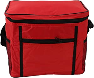 Apofly Picnic Hamper Bag Thermal Insulated Picnic Pack Case Food Cooling Package for Outdoor Meals Friends Families Black