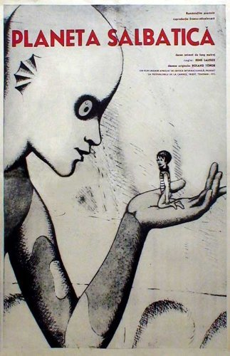 The Weird Planet POSTER Movie (11 x 17 Inches - 28cm x 44cm) (1973) (Romanian Style A)