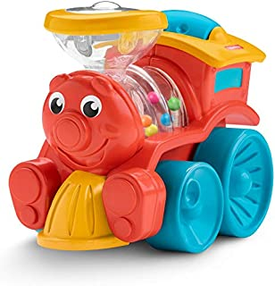 Amazon.com: Fisher-Price Brilliant Basics poppity Pop tren ...