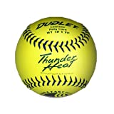 Dudley 11'' USSSA Thunder Heat Leather Fastpitch Softball - pack of 12