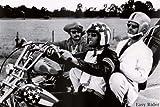 Easy Rider Fonda Hopper Nicholson B/W 23X35 Poster