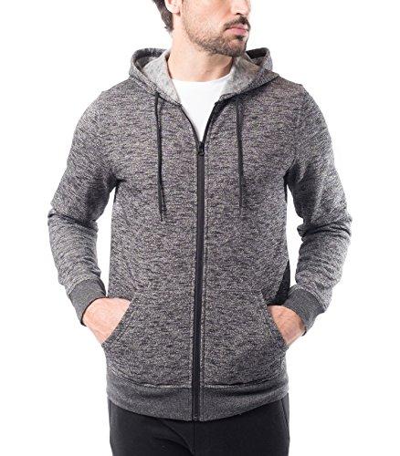 Gray Full Zip Hoodie - 8