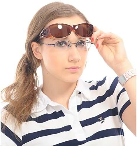 Duco Unisex Wear Over Prescription Glasses Rx Glasses Polarized Sunglasses 8953