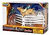 Breyer Collectibulls Rodeo Cowboy Playset