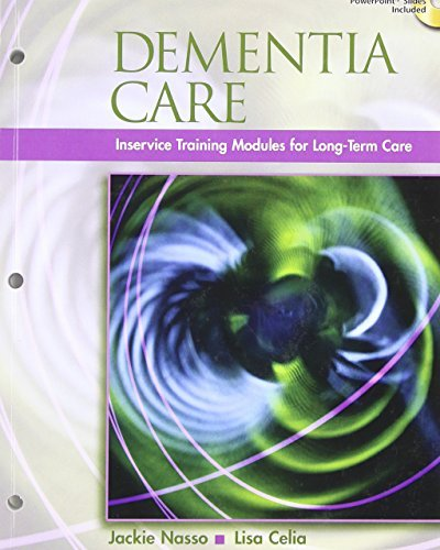 By Jackie Nasso Dementia Care: InService Training Modules for Long-Term Care (1st Frist Edition) [Paperback] PDF