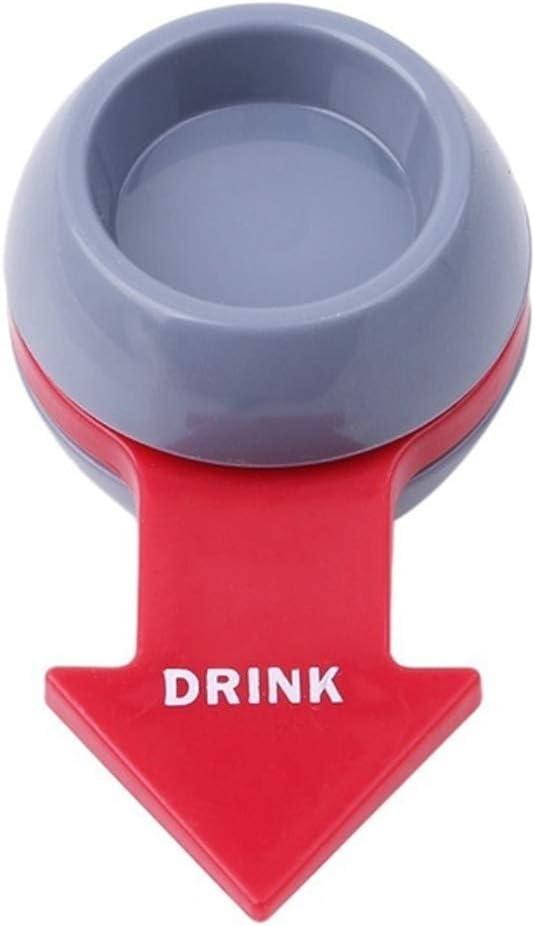 SELUXU Beer pointeur Platine Jouet Bar Club Partie Portable Spin Roulette Boire Jeu