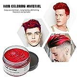 4 Colors Temporary Hair Color Wax Silver Grey