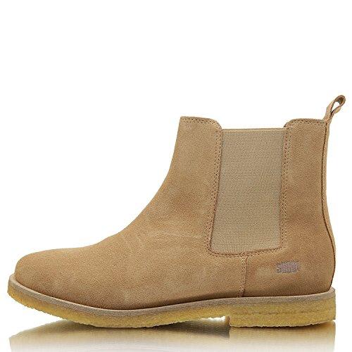 Wildleder Herren atmungsaktiv Bequeme Leder Chelsea Schuhe SHOOT Leopardo echtes Boot t1wqwRfO