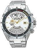 [オリエント]ORIENT 腕時計 自動巻 万年カレンダー ホワイト 海外モデル 国内メーカー保証付き SEU03002WH