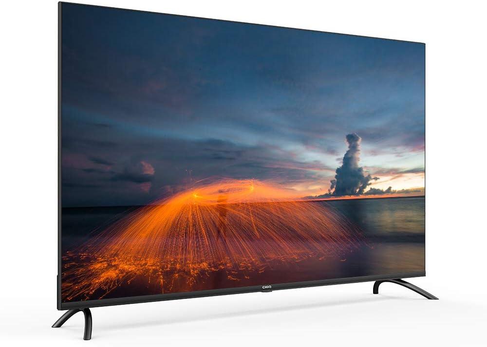CHiQ Televisor Smart TV LED 43 Pulgadas 4K UHD, HDR 10/HLG, WiFi, Bluetooth, Youtube, Netflix, Prime Video, 3 x HDMI, 2 x USB: Amazon.es: Electrónica