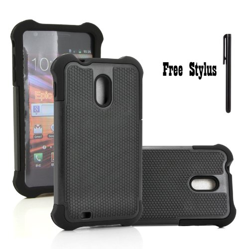 Anti-Shock-and-Drop-Dual-Layer-Hybrid-Case-for-The-Sprint-Samsung-Galaxy-S2-II-SPH-D710-US-Cellular-Samsung-Galaxy-S2-II-SCH-R760-The-Boost-Mobile-Virgin-Mobile-Ting-Samsung-Galaxy-S-II-4G