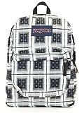 JanSport Backpack Superbreak - BLACK ARCADE PLAID Deal (Small Image)