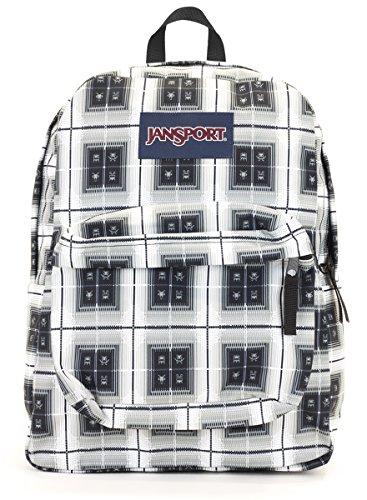 Jansport Superbreak Backpack (black arcade plaid) ()