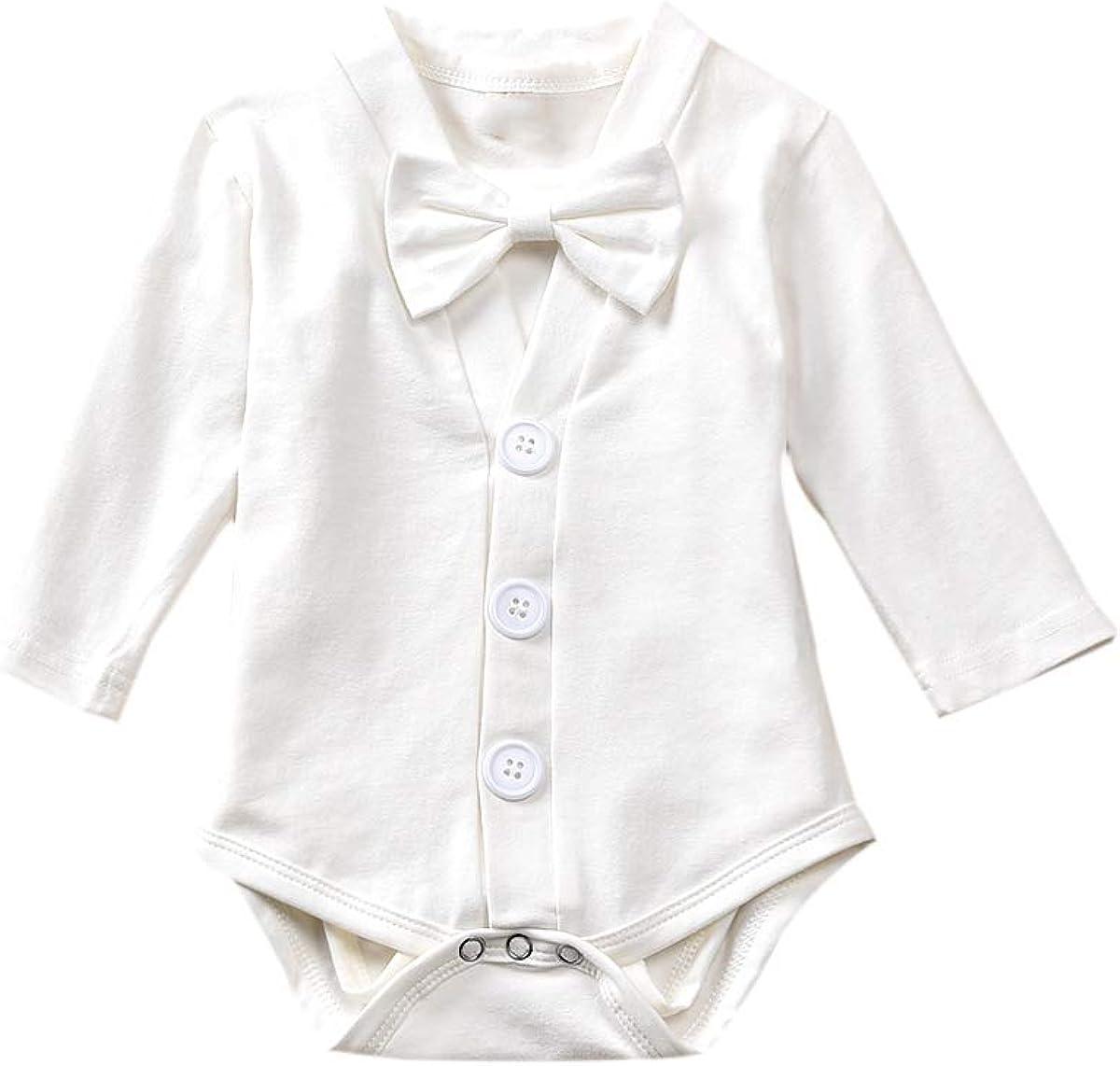 Newborn Kids Short Sleeve Jersey Bodysuit Sad Hot Dog Toddler Clothes