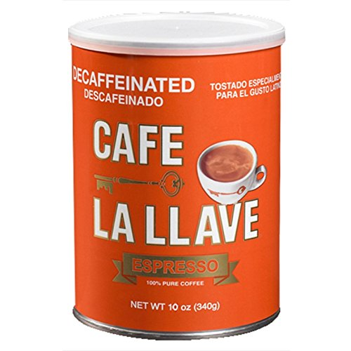 Café La Llave Decaf Coffee, 10 Ounce