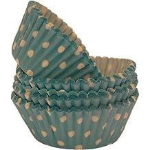 Bleu/Turquoise-Spot-Cupcake Fairy Cakes 100 ~'s