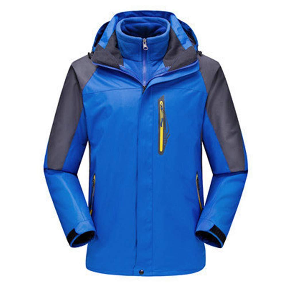 AiNaMei Warme Skibergsteigen für Herren Outdoorjacke Fleece