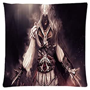 Assassin Creed Assassin's ~ Durable Unique Throw Square Pillow Case 18X18 inches Fashionable Diy Custom Personalized Pillowcase Design by Engood