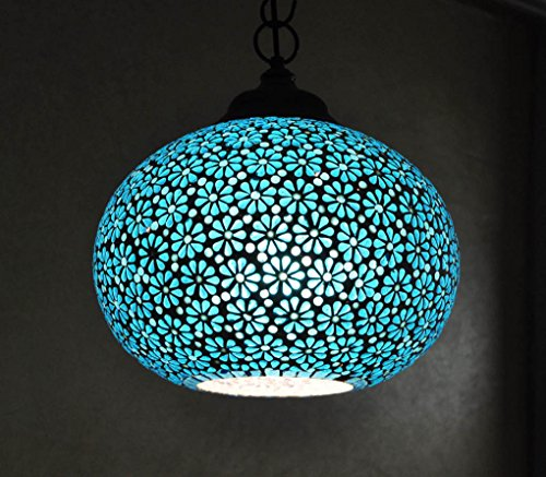 Lalhaveli Designer Pendant Ceiling Lampshade Vintage Glass Hanging Lamp