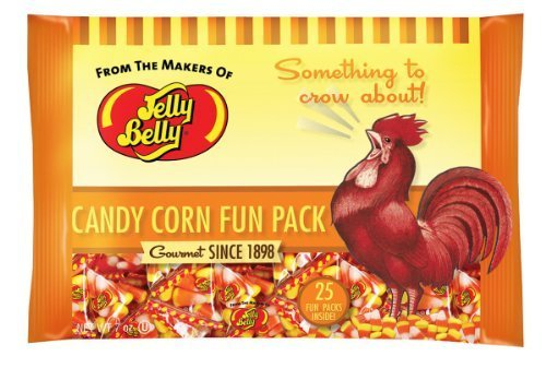 Jelly Belly Gourmet Candy Corn - 2 Bags of 25 Packs by Jelly Belly