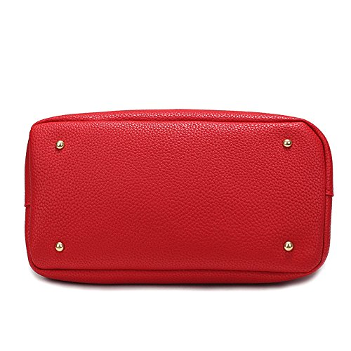 Women Pu Shoulder Messenger Bag Red Mobile Bags Patent Bag Bag Black Women Buns Cross Mother Leather Ladies Bags Totes SwX1Aq