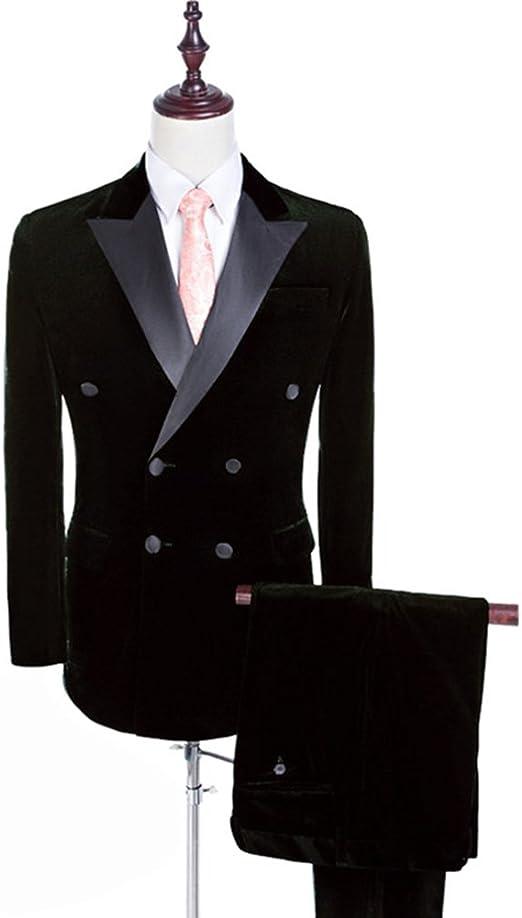 Mens Grey Vintage Tweed Stripe Slim FIT Suit Blazers Tuxedos Wedding Suit Custom