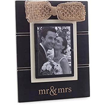 mud pie mr and mrs picture frame - Mr And Mrs Picture Frame