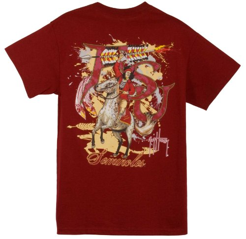Guy Harvey Florida State Seminoles T-Shirt - Garnet - Large