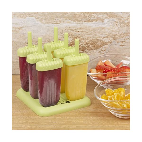 Homiu Popsicles molds Stick Features DIY You Are Easy to Clean Includes Drip Tray Dishwasher And Freezer Safe Create… 3 spesavip