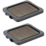 """Alligator 2 x Knife Grids (6x6 mm) (1/4"""") Replacement for Alligator Stainless Steel Chopper"""