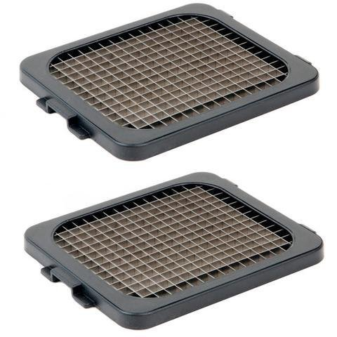 "Alligator 2 x Knife Grids (6x6 mm) (1/4"") Replacement for Alligator Stainless Steel Chopper"