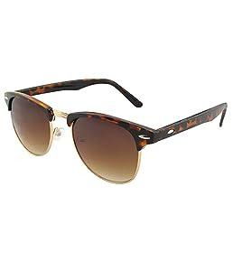Yinpinxinmao Women's Men's Retro Sunglasses Outdoor Driving Glasses Eyewear (One size fits most, Leopard)