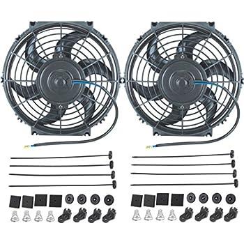 Amazon Com American Volt 12v Electric Radiator Cooling