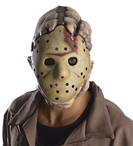 Rubie's Costume Men's Friday The 13Th Jason Double Mask, Multi, One Size - Horror Movies Costumes