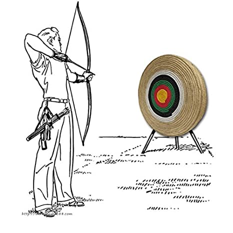 9e01f6e945c toparchery 3D Ring Straw Arrow Target Hunting Shooting Game Practice  Targets 24 24inches Single Layer  Amazon.co.uk  Toys   Games