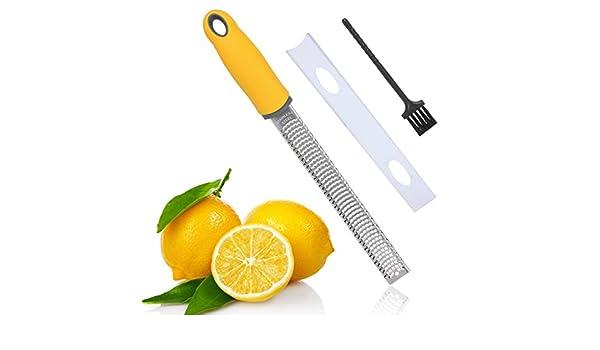 flytt acanalador de cítricos limón y rallador de queso, Sharp hoja ...