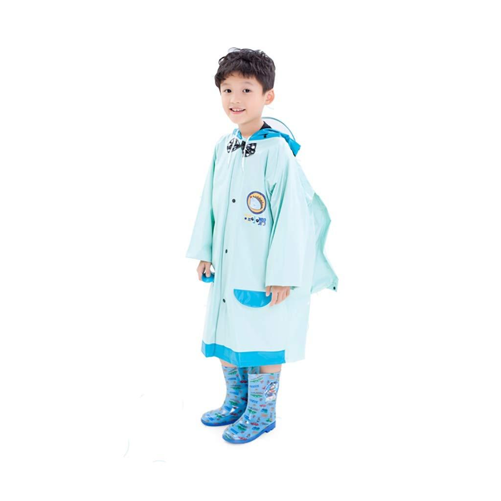 D grand Hyuyi Imperméable pour Enfants, garçons et Filles, Poncho pour l'école Primaire, imperméable (Couleur   C, Taille   L)