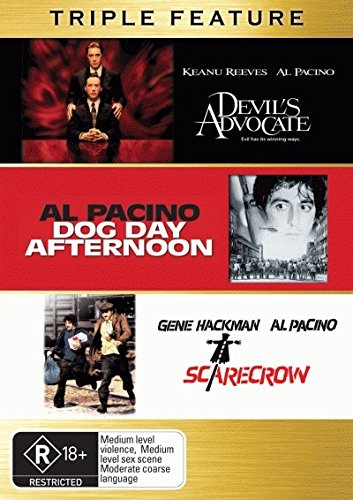 Devil's Advocate / Dog Day Afternoon / Scarecrow | 3 Discs | NON-USA Format | PAL | Region 4 Import - Australia