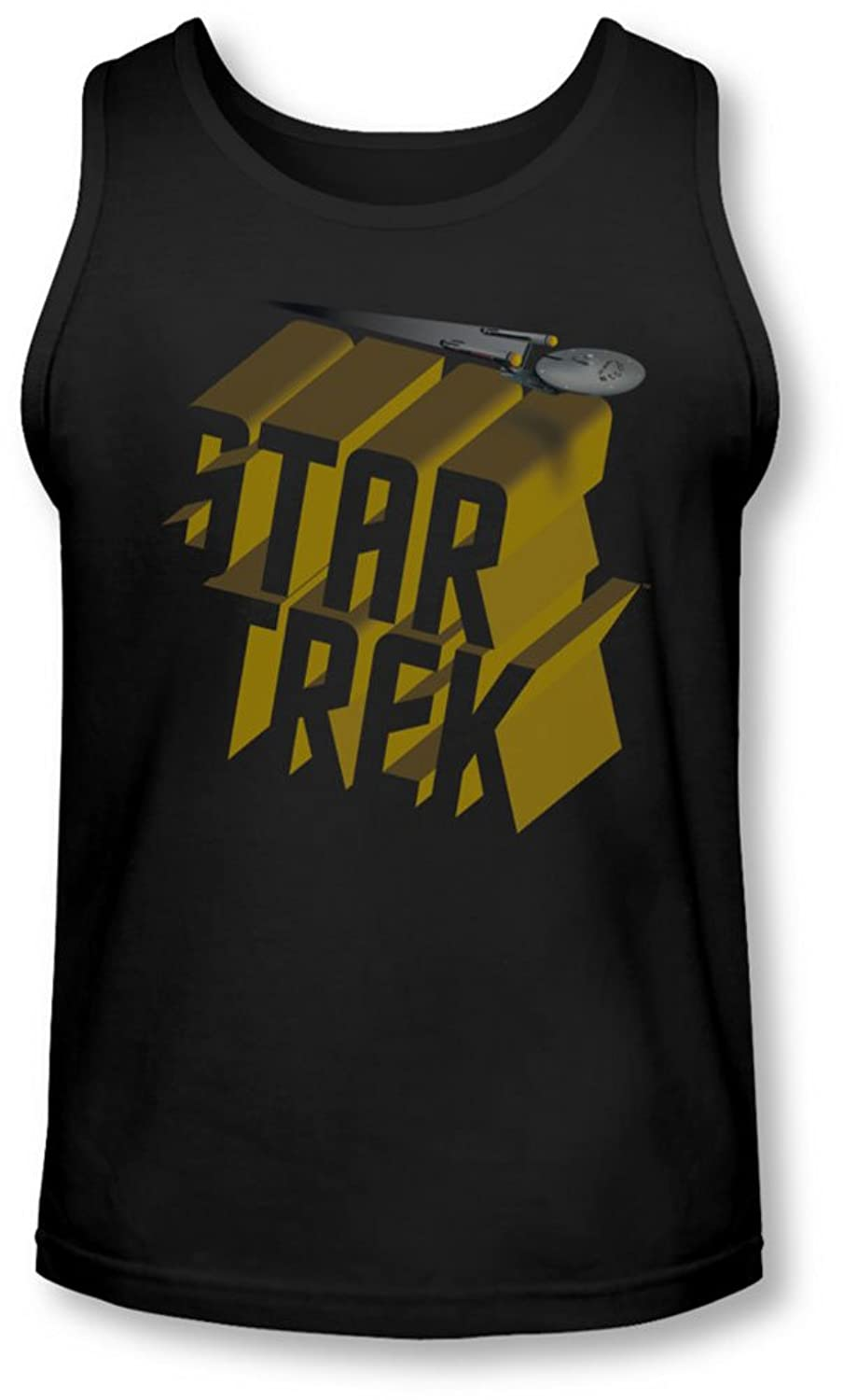 Star Trek - Mens 3D Logo Tank-Top