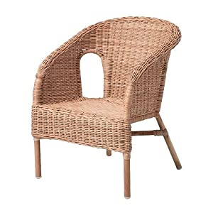 Ikea Agen Children S Armchair Rattan Amazon Co Uk