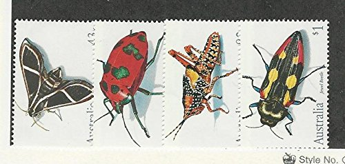 Australia, Postage Stamp, 1211-1214 Mint NH, 1991 Insects