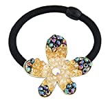 Young & Forever Women's Valentine Paradiso Collection Diwali Divalicious Hair Ponytail Holder